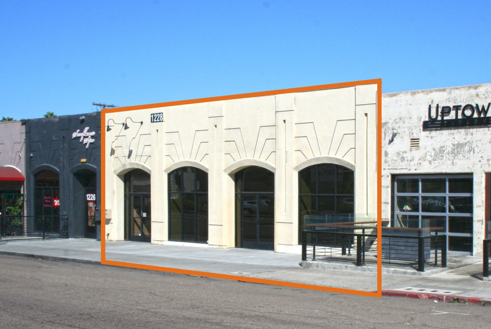 Hillcrest Street Retail For Lease