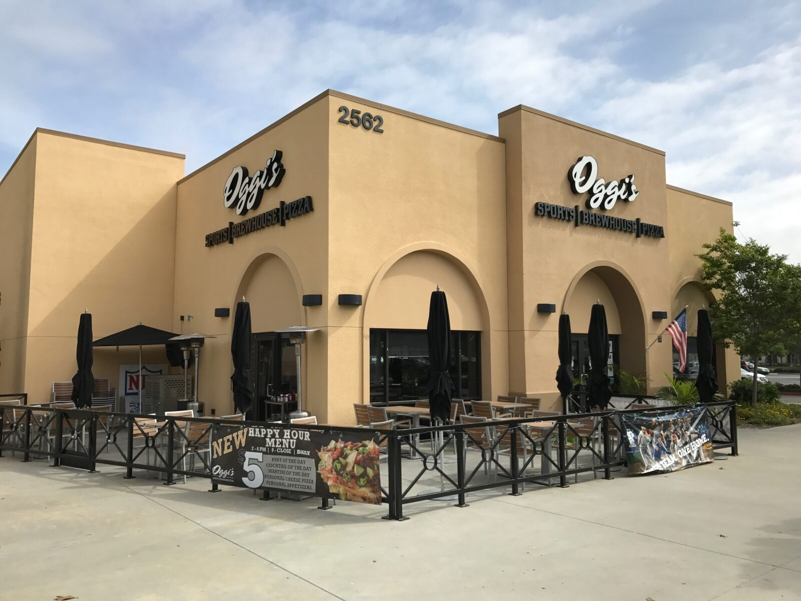Freestanding Liberty Station Restaurant and Bar – Currently Oggi's Pizza & Brewhouse