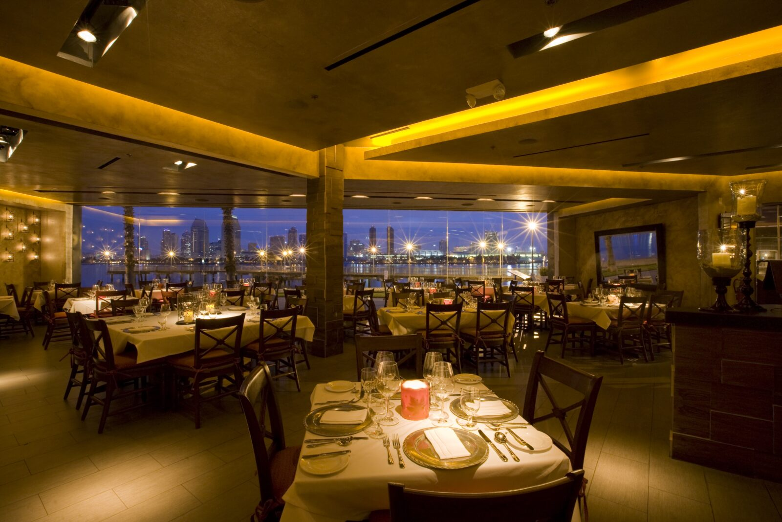 Bayfront Restaurant on Coronado Island
