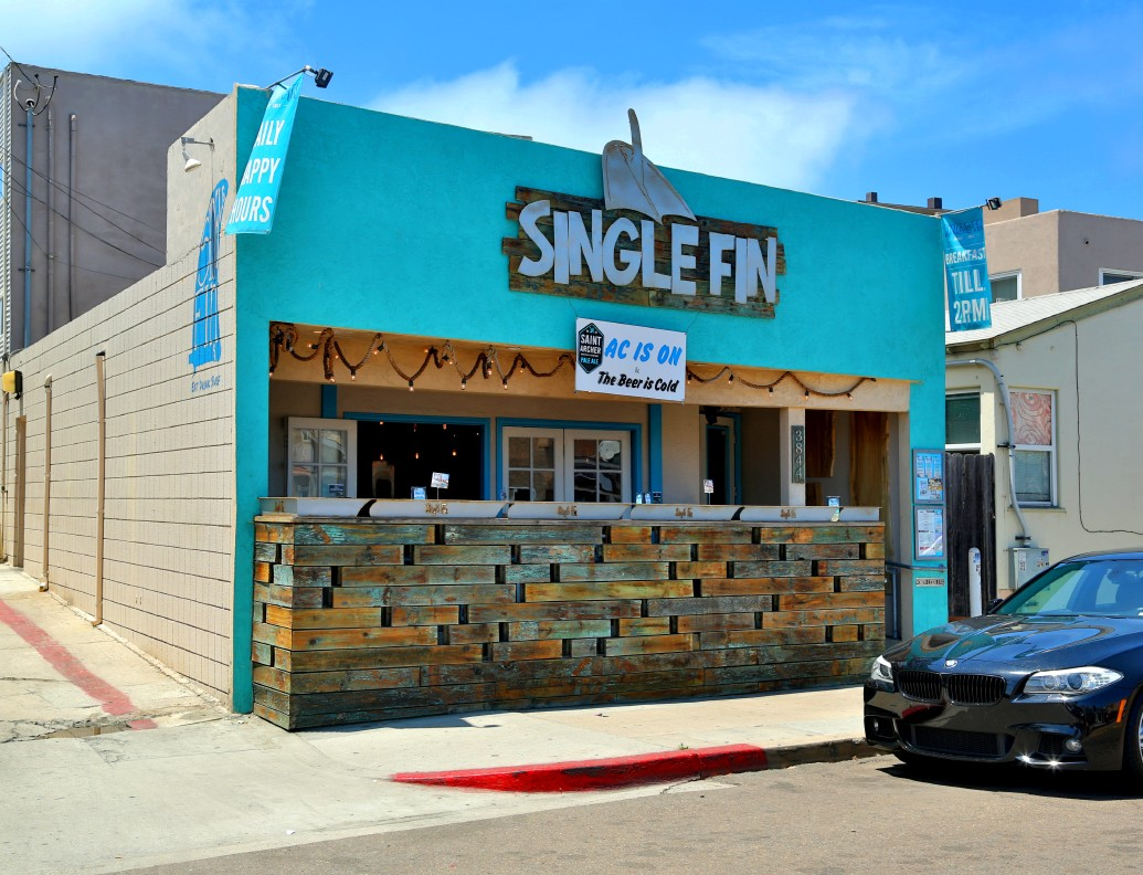 Single Fin Surf Grill – Mission Beach