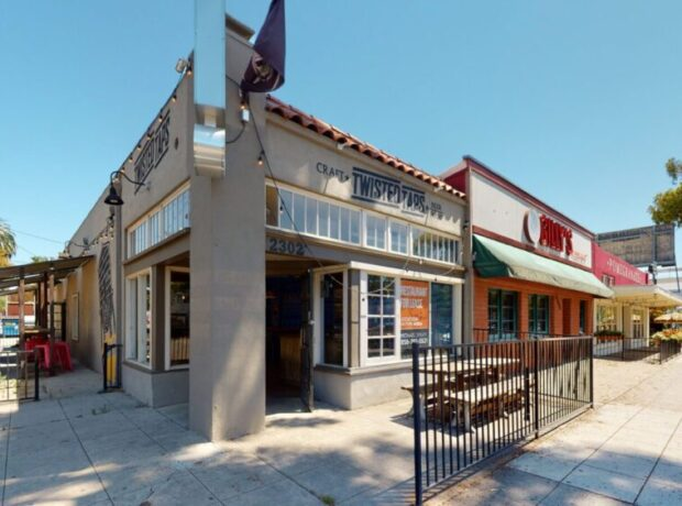 Corner Restaurant Space on El Cajon Blvd.