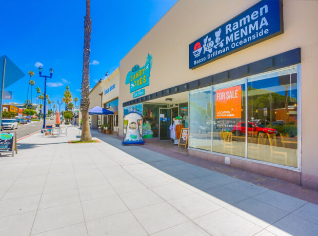 Retail/ Restaurant Investment in Downtown Oceanside